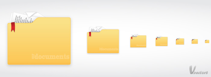 Create a Documents Icon | VforVectors