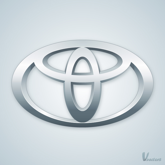 Create The Toyota Logo Vforvectors