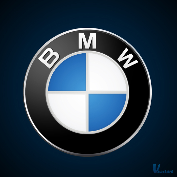 Create The Bmw Logo Vforvectors