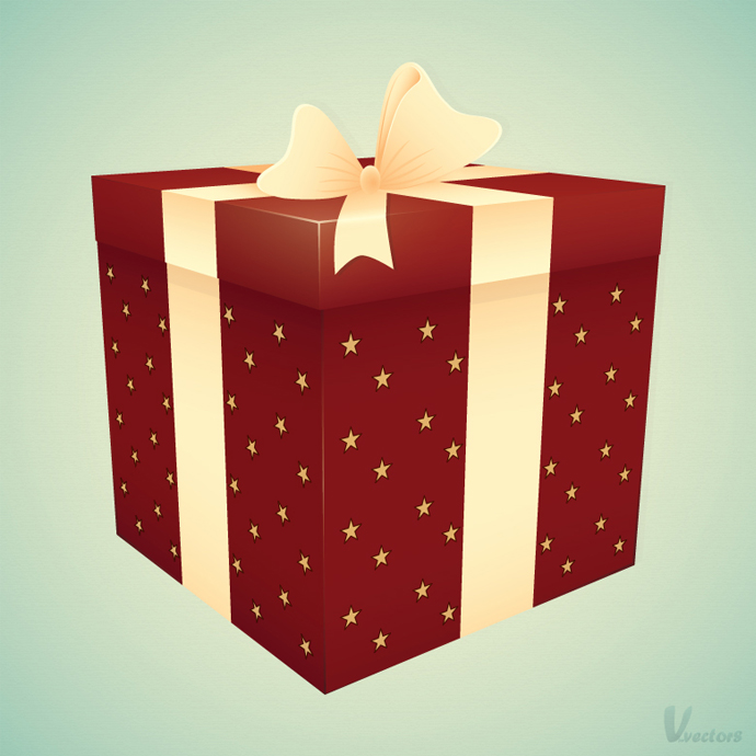Create a Gift Box Illustration